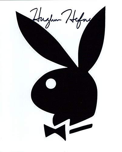HUGH HEFNER signed 8x10 Photo -  Authentic Autographs