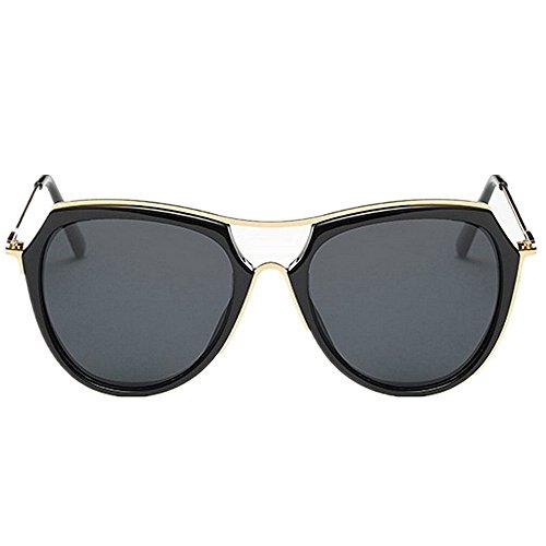Metal Black de Gafas de al Gran de de de Gafas Sol Aire los Black Tamaño Libre Yxsd UV Protección de Marco Hombres polarizadas Conducción Color SunglassesMAN O8qSR6E