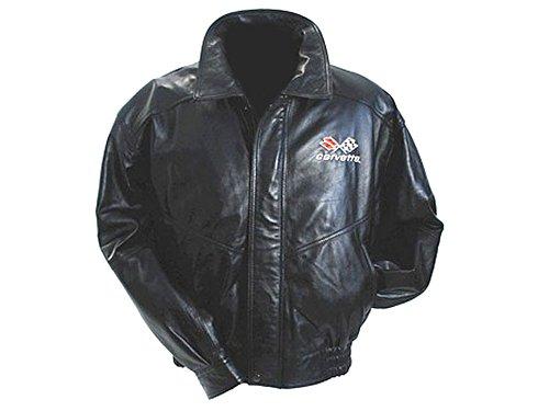 Corvette Leather Bomber Jackets - 5