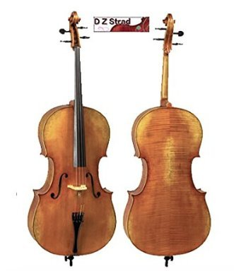 Cello D Z Strad Model 600 Size 1/4 Handmade by Prize Winning Luthiers (1/4) by D Z Strad