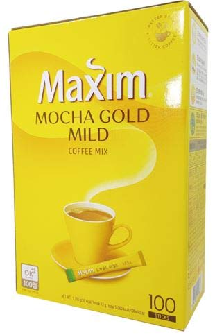 [Maxim] Mocha Gold Mild Coffee Mix/맥심 모카골드 커피믹스(100ea/pk)