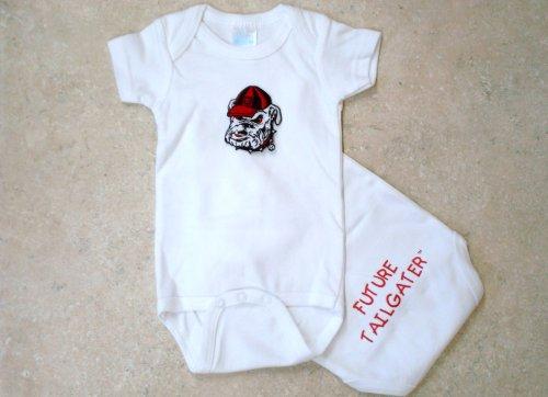 Georgia Bulldogs Future Tailgater Baby Onesie