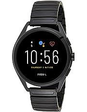 ساعة امبوريو ارماني ذكية بمينا متعدد الالوان من الستانلس ستيل وعرض رقمي للرجال - ART5029
