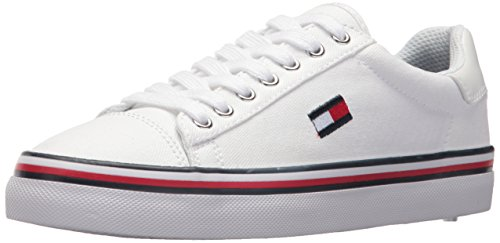 Tommy Hilfiger Womens Fressian Sneaker White