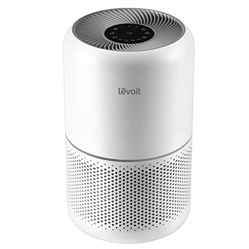 41MmT7Y3HDL. SS510  - LEVOIT Air Purifier for Home Allergies and Pets Hair Smokers in Bedroom, H13 True HEPA Filter, 24db Filtration System…