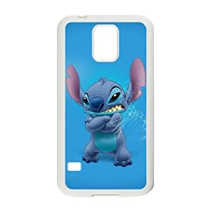 Disneys Lilo And Stitch Samsung Galaxy S5 Cell Phone Case White yyfabc_100803