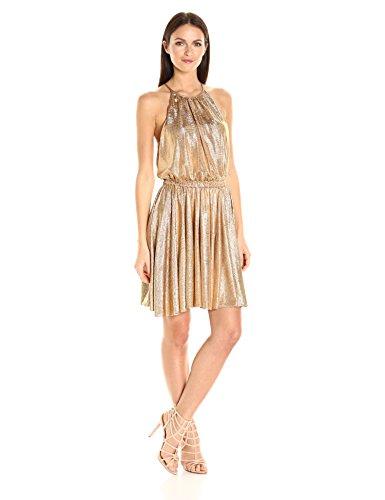 Buy dress with a flounce skirt - 9
