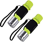 ChaseLight Magnetic Switch Diving Light Scuba Flashlight Dive Light Waterproof Underwater Torch for Scuba Divi