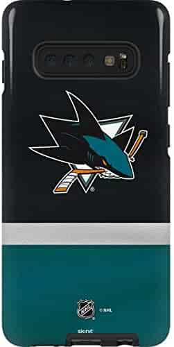 b5719b1ee72 Skinit San Jose Sharks Jersey Galaxy S10 Plus Pro Case - Officially  Licensed NHL Phone Case