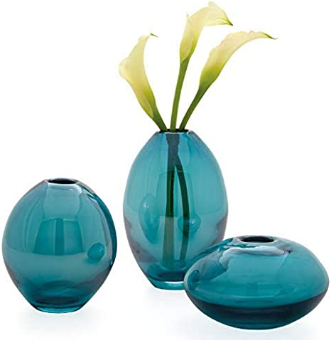 Mini vase turquoise