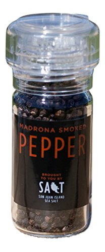- Madrona Smoked Organic Pepper Grinder by San Juan Island Sea Salt