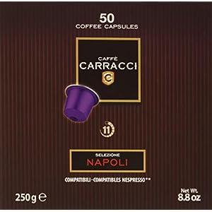 Caffè Carracci Capsule Compatibili Nespresso Napoli - 50 capsule