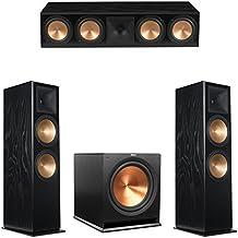 Klipsch 3.1 Black Ash System with 2 RF-7 III Floorstanding Speakers, 1 RC-64 III Center Speaker, 1 Klipsch R-115SW Subwoofer