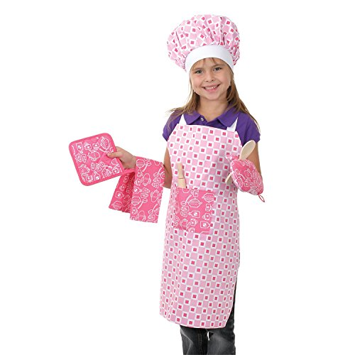 Toysmith Deluxe Chef Set - Little Girl Chef Costume