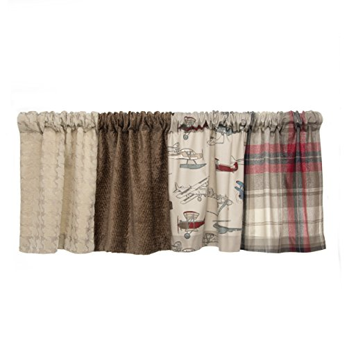 Glenna Jean Fly-By Window Valance, 70 x 18'' by Glenna Jean