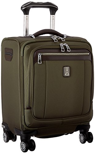 Travelpro Platinum Magna 2 Spinner Tote, Olive, One Size by Travelpro