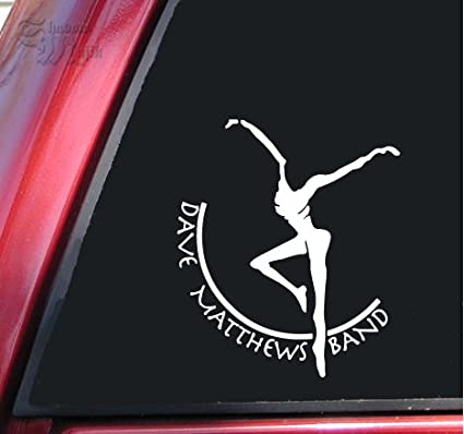 Dave matthews band vinyl decal sticker 6 x 5 2
