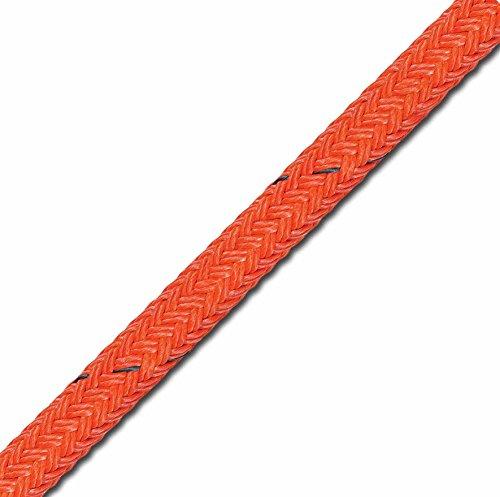 Samson 2-in-1 Stable Braid Double Braid Bull Rope, Orange, 3