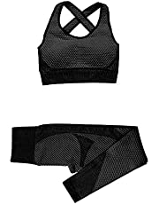 Girls' Sportswear Yoga Set Seamless Women Sportswear Yoga Suit Fitness Yoga Clothing Female Gym Suits Workout Running Clothes
