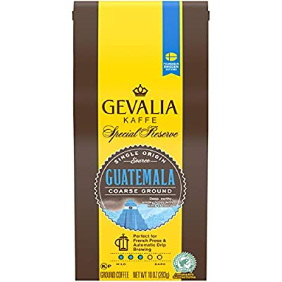 Gevalia Special Reserve Guatemala Coarse Ground Coffee, Caffeinated, 10 oz Bag by KRAFT HEINZ FOODS COMPANY