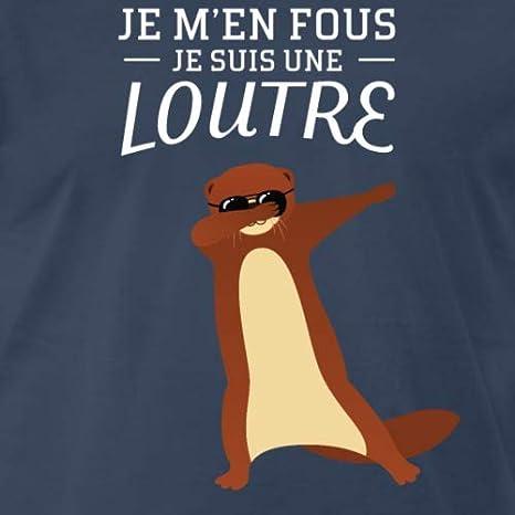 Loutre T Fous Shirt M'en Je Spreadshirt Premium Homme Dabbing JuT135FlKc