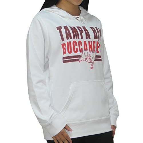 Discount Womens Tampa Bay Buccaneers Athletic Warm Pullover Hoodie  for cheap