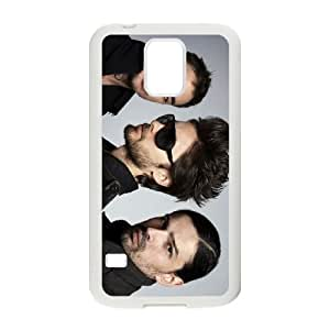 30 seconds to mars band 2 Samsung Galaxy S5 Cell Phone Case White PSOC6002625591011