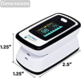 Innovo Deluxe iP900AP Fingertip Pulse Oximeter with Plethysmograph and Perfusion Index