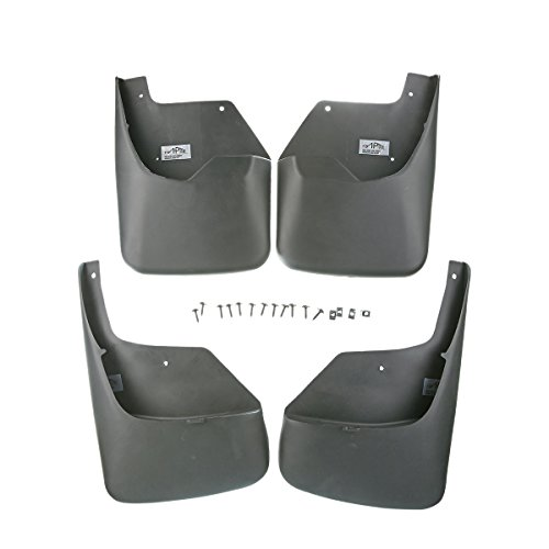 (A-Premium Splash Guards Mud Flaps for Chevrolet Trailblazer 2002-2009 SSR 2003-2006 Front and Rear 4-PC Set)
