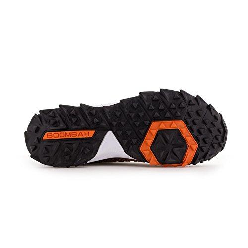 Scarpe Da Campo Turf Da Uomo Boombah - 20 Opzioni Di Colore - Più Dimensioni Nero / Arancione