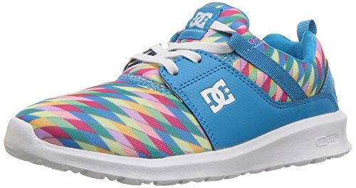 DC Girls' Heathrow SP Skate Shoe, Blue Jewel, 13.5M M US Little Kid