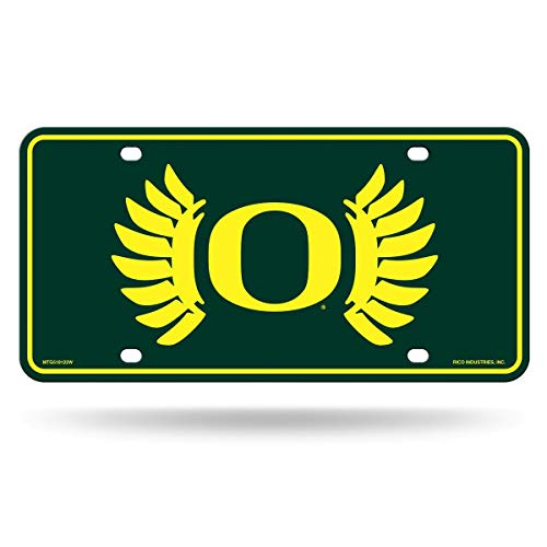 NCAA Oregon Ducks Metal License Plate Tag