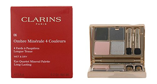 Clarins Eye Quartet Mineral Palette 06 Graphites (Color Clarins Eyes Quartet For)
