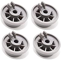 4 Pack of 165314 Dishwasher Lower Rack Wheel - Replacement by DR Quality Parts Replaces 00420198 420198