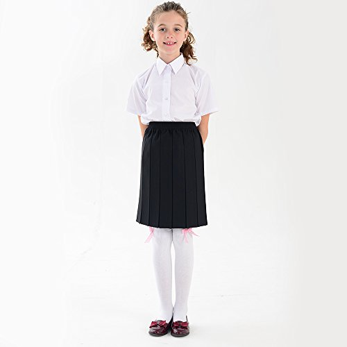 Girls Blouse School To Back Adam Eesa Boys White amp; Available Sizes Short Sleeve Shirt Yawvwpqto
