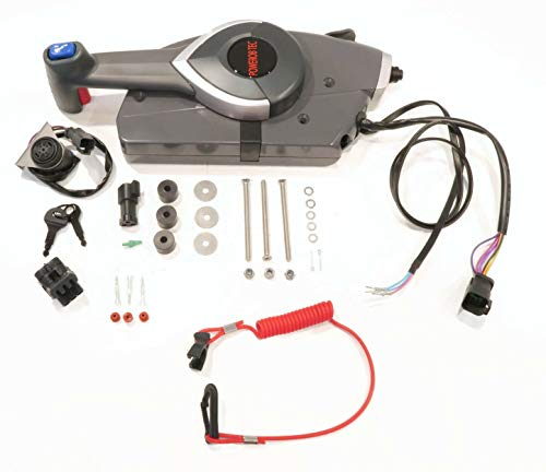 - The ROP Shop | Remote Control with Emergency Lanyard for OMC Evinrude 0175945, 175943, 176380