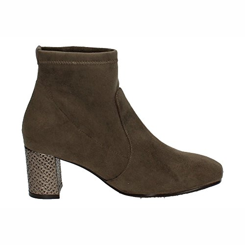 MADE IN SPAIN ,  Damen Kurzschaft Stiefel Taupe