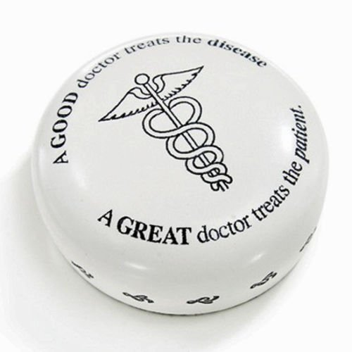 (DESK ACCESSORIES - A GREAT DOCTOR PAPERWEIGHT - MEDICAL)
