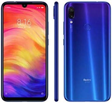 Xiaomi Redmi Note 7 128GB + 4GB RAM 6.3″ FHD+ LTE Factory Unlocked 48MP GSM Smartphone (Global Version, No Warranty) (Neptune Blue)