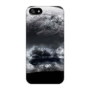 Premium Durable Black Moon Fashion Iphone 5/5s Protective Case Cover