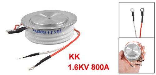 eDealMax 1.6kV 800A KK Metal Shell rápido convexo rectificador de tiristor SCR