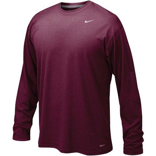 Nike Legend Long Sleeve Poly Top Cardinal XXL