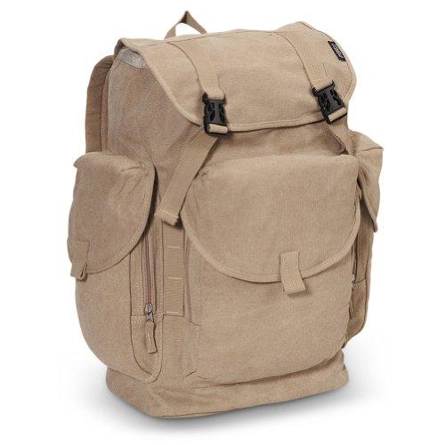 Everest Luggage Rugged Canvas Backpack KAK