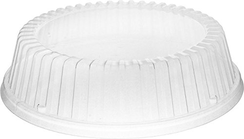 Dart CL9P Clear Plate Cover Fits 9 in (Case of 500) by Solo Foodservice (Image #1)