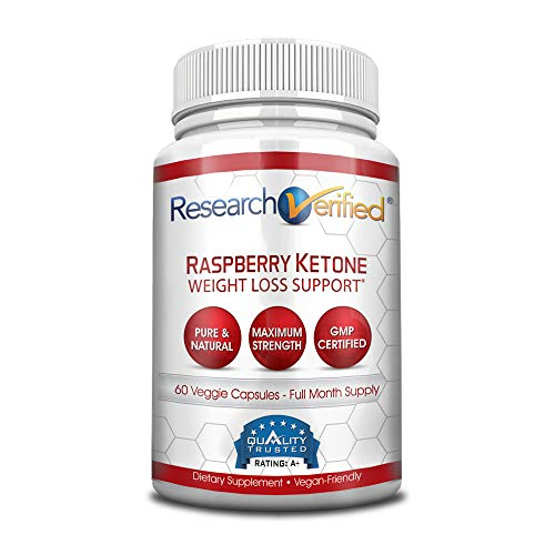 Research Verified Raspberry Ketones -100% Pure Natural Raspberry Ketones -1000mg/day for Fast and Easy Weight Loss - 365 Day 100% Money Back Guarantee - 180 Capsules (Three Month Supply) by Research Verified (Image #6)