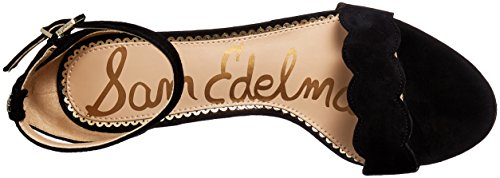 Black Suede Heeled Black Edelman Sandal 002 Women's Black Odila Sam w8PpqZXp