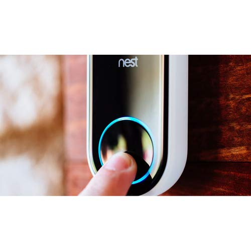 Nest cam. NC5100US Hello Video Doorbell, 3 MP, IPX4-Rated for Water Resistance, 160° Diagonal. by ANIU-181121-1 (Image #3)