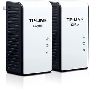 TP-LINK TL-PA511 KIT AV500 Powerline Gigabit Adapter Starter Kit, up to 500Mbps
