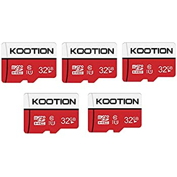 Amazon.com: TOPESEL 32GB Micro SD Card 5 Pack Memory Cards ...