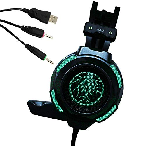 Headset Gamer Haiz 9200 Led Grade Microfone Som Ultrabass